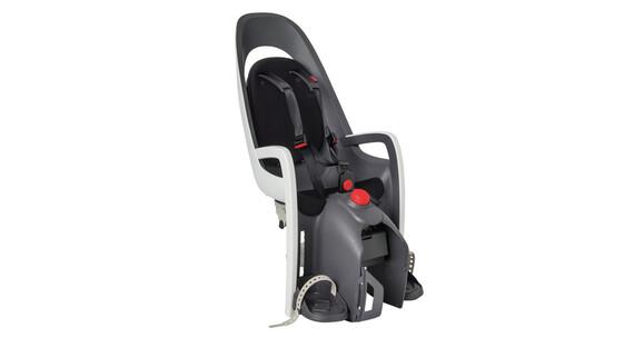 Hamax Caress fietsstoeltje bagagedrager grijs/wit